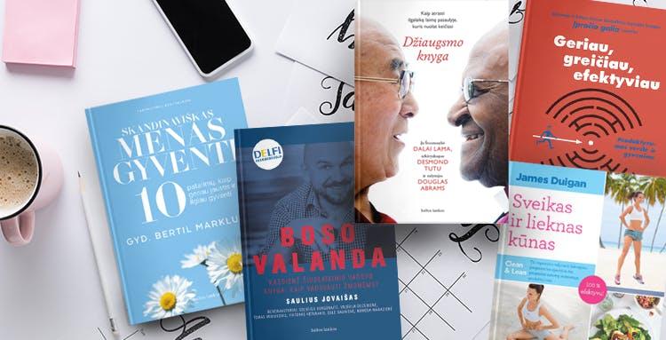 Knygos, kurios padės siekti asmeninių tikslų