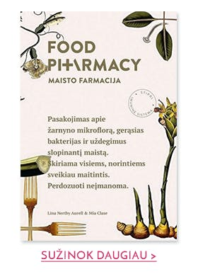 Food pharmacy. Maisto farmacija