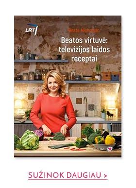 Beatos virtuvė: geriausi TV laidos receptai