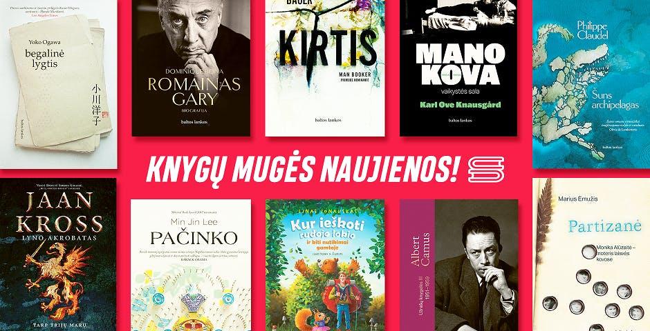 Baltų Lankų knygų mugės naujienos