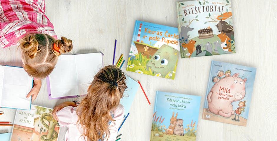 Knygos vaikams apie draugystę