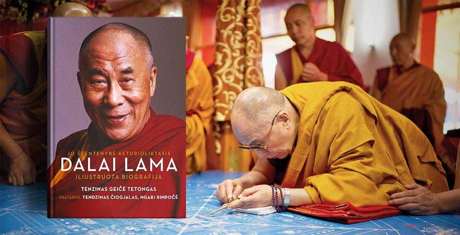 Dalai Lamos biografija Jo Šventenybė