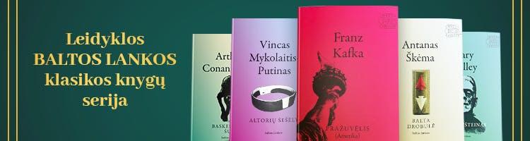BALTOS LANKOS klasikos knygų serija