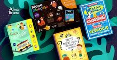 naujos knygos vaikams