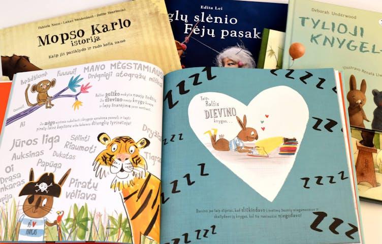 Gražiausios knygos vaikams