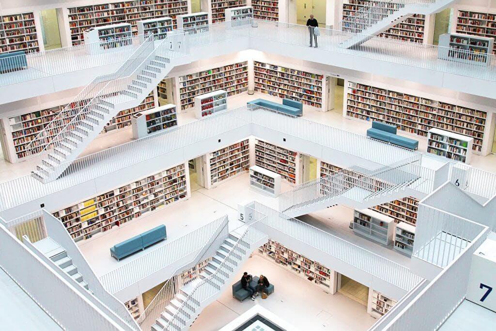 Štutgarto miesto biblioteka