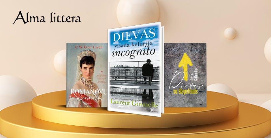 Alma littera 2020 m. TOP knygos
