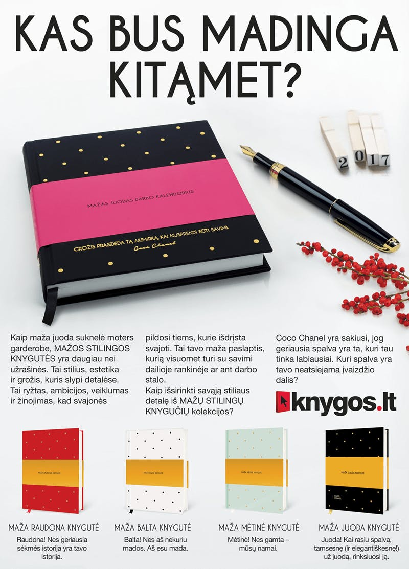 mažos stilingos knygutės