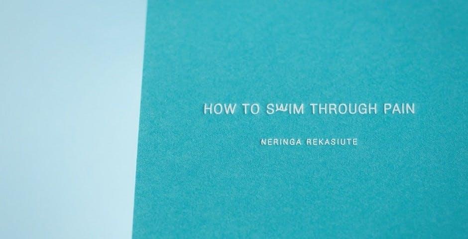 How to swim through pain