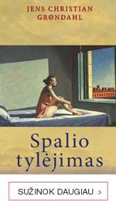 Grondahl romanas SPALIO TYLĖJIMAS