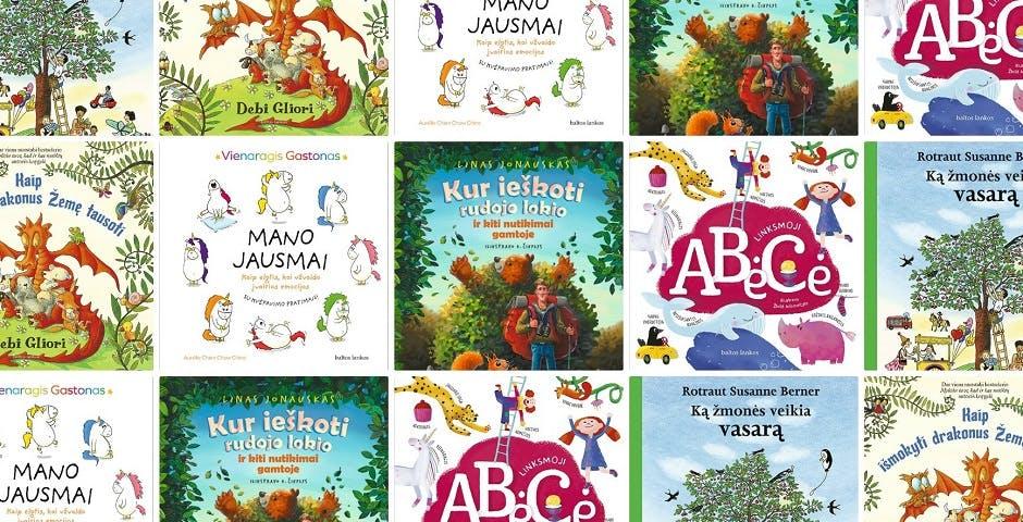 Baltos Lankos knygos vaikams