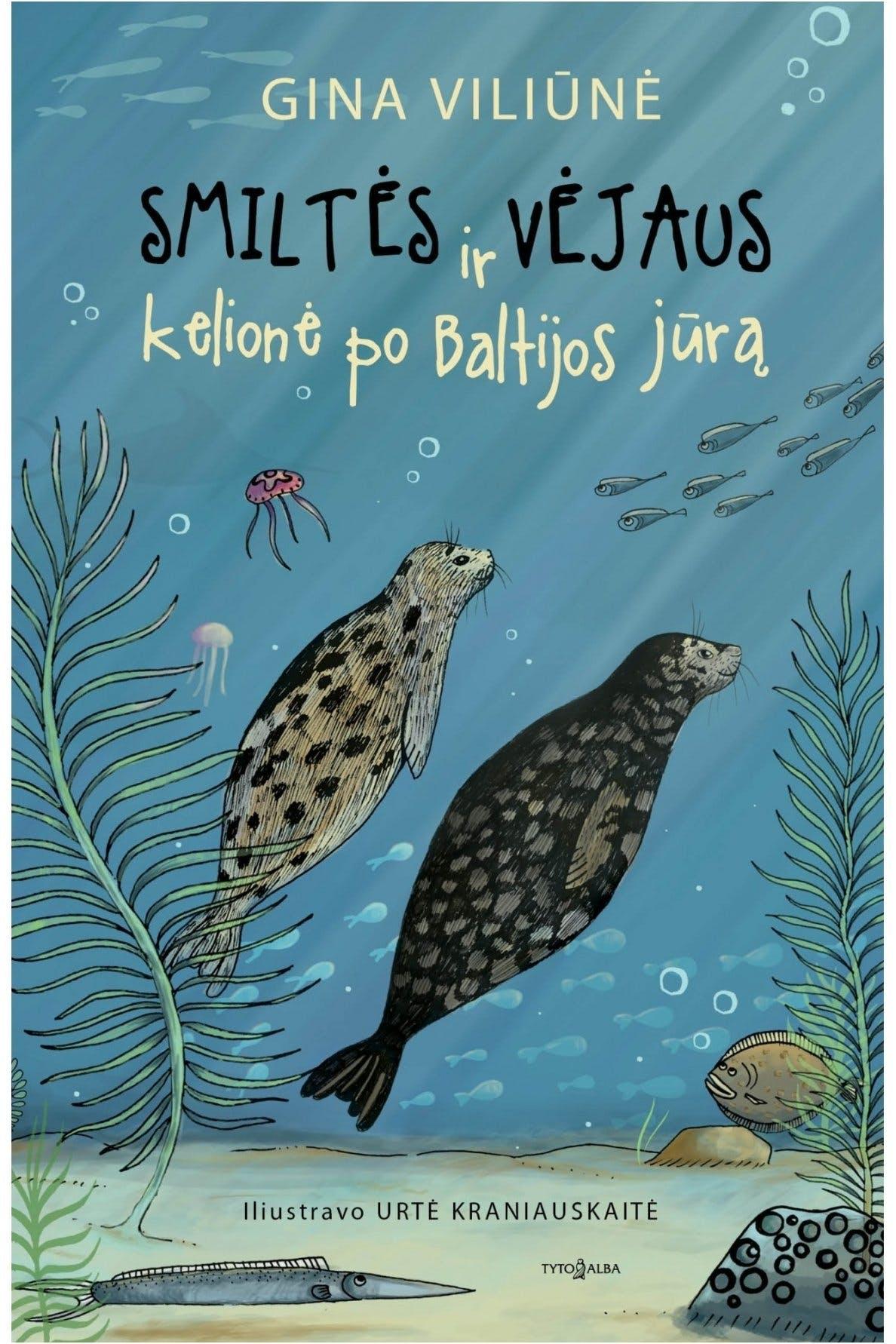 Smiltės ir Vėjaus kelionė po Baltijos jūrą