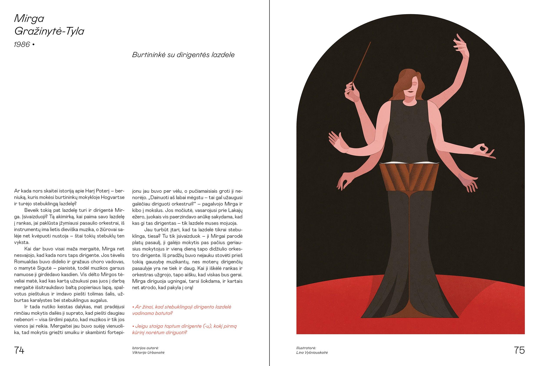 VAKARO ISTORIJOS LIETUVOS MERGAITĖMS: 100 istorijų apie Lietuvos moteris